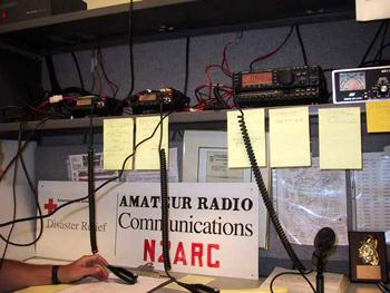N2ARC radios in the 2001 setup.(Photos N2GJ)