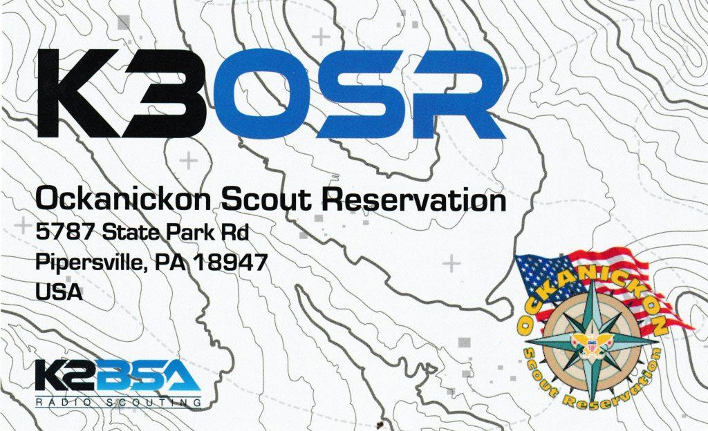 QSL Card K3OSR